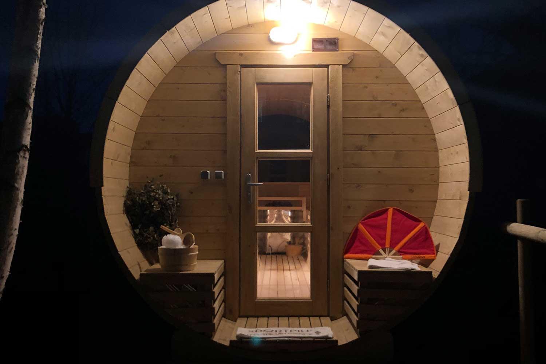 Spa sauna finlandese